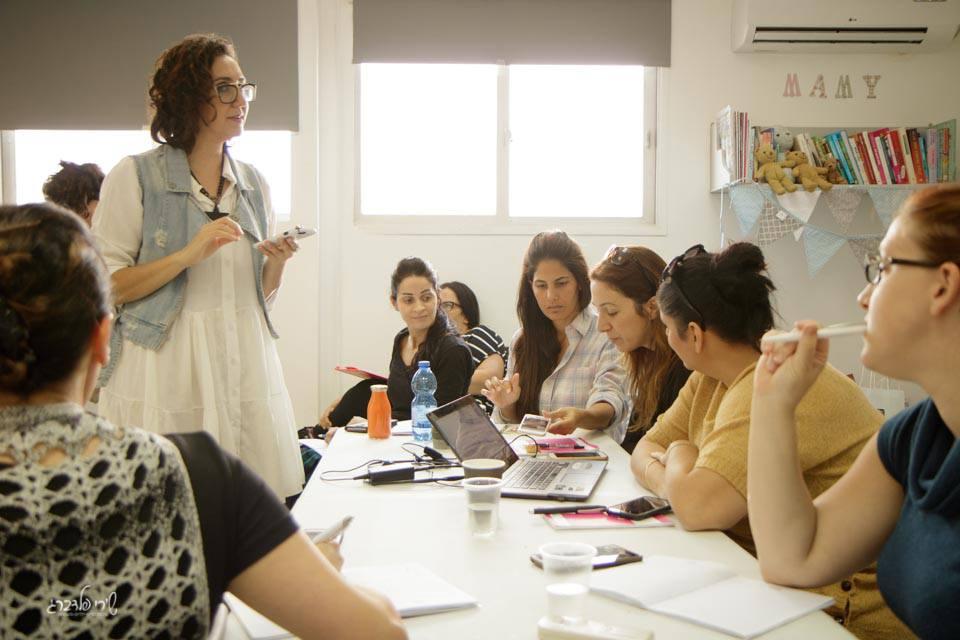 אילנית הילל בקורס ביזנס - נשים.עסקים.קפה